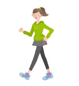 散歩は関節を動かす良い運動