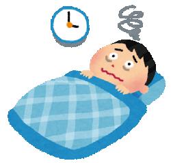 眠れない夜は焦るほど興奮して眠れなくなる