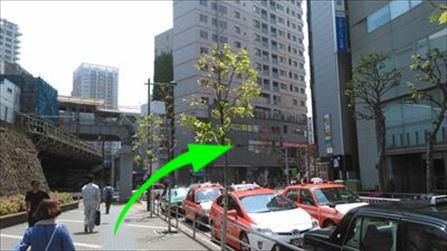 五反田駅西口から左手にあるうどん屋