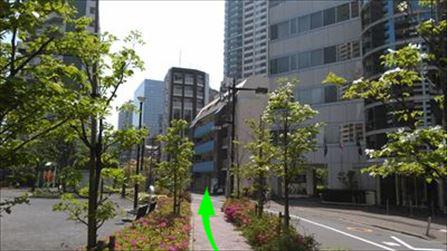 いやさか整体院 五反田駅から見て