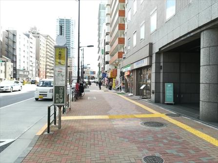 大崎広小路駅から右手に進む