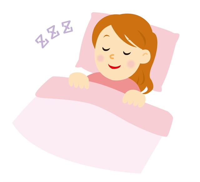 高さの合った枕で良く眠れる